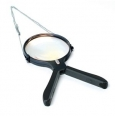 2 Way Hands Free Lighted Magnifier