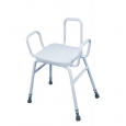 Malling Perching Stool With Arms And Back