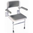 Solo Deluxe Shower Seat With Padded Seat &amp; Back