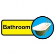 Bathroom sign - 480mm x 210mm