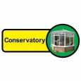Conservatory sign - 480mm x 210mm