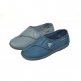 Gents Slippers - Arthur Blue - Size 6