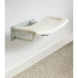 Wall Mounted Shower Seat in White