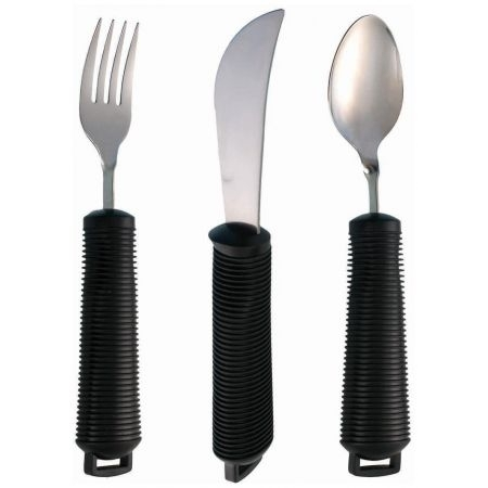 Bendable Cutlery Set - 3 Piece Plus Strap