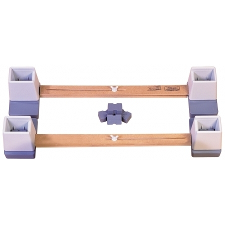 Adjustable Linked Raiser for Double Bed