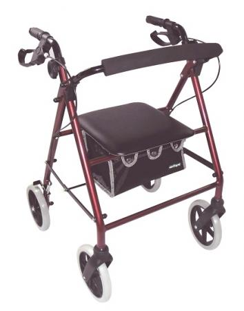 Lightweight Rollator - Red