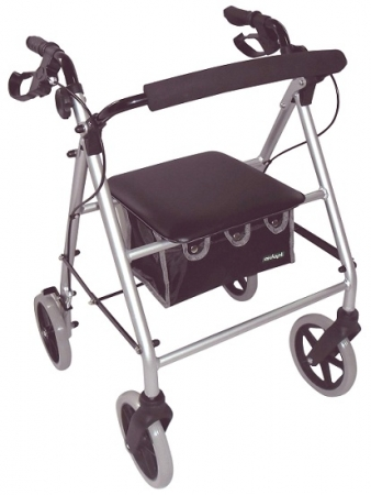 Lightweight Rollator - Silver