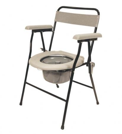 Lightweight Folding Commode Chair