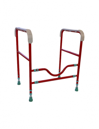 Three Way Toilet Frame - Red or Blue