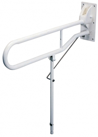 Solo Hinged Support Arm with Back Plate And Leg