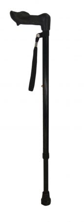 Ergonomic 2 Section Walking Stick Right Hand