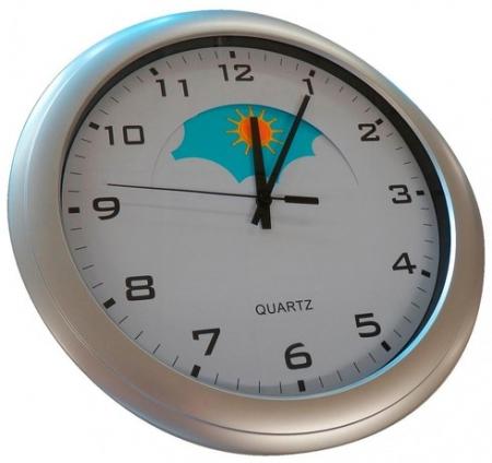 Day/Night Wall Mounted Dementia Clock