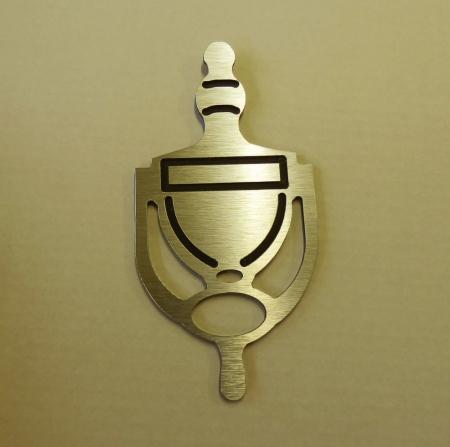 Door Knocker: Gold - TWIN PACK