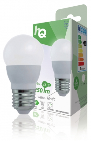 E27 Mini Globe LED Eddison 2.5W (25W equivalent)