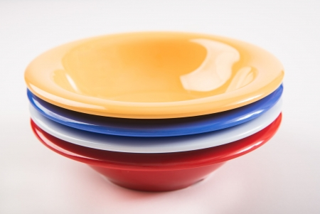 "6 Soup Bowls, 15oz, 7¼""/185mm - Different colours available"