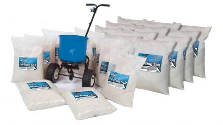 Salt Spreader Kit: 20 x 25kg Bags with Salt Spreader