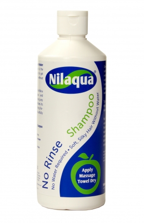 Nilaqua Waterless Shampoo - 500ml - PACK of 6