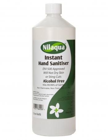 Nilaqua Sanitiser Refill - 1000ml - PACK of 4