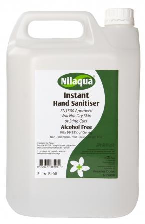 Nilaqua Sanitiser Refill - 5 litre