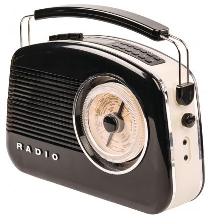 Konig Retro Design DAB+ Radio – Available in different colours