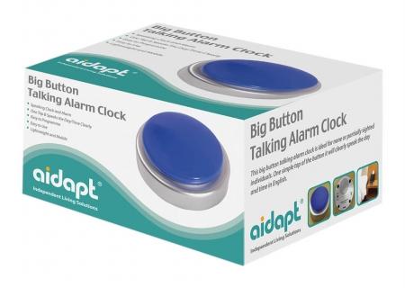 Aidapt Big Button Talking Alarm Clock