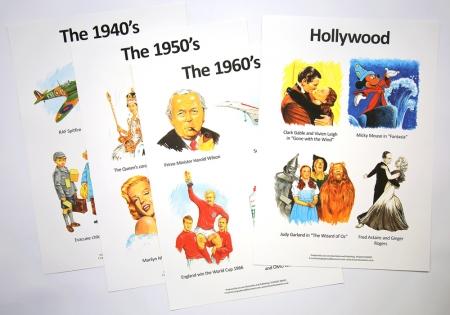 Decades Poster Set