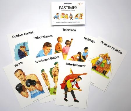 Pastimes Memory Card Set