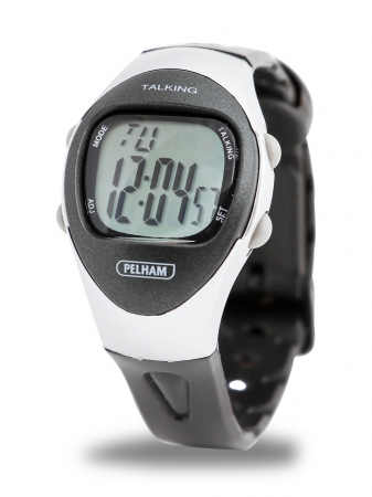 Talking 4 Alarm LCD Watch - Small