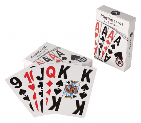 Easy to Read Playing Cards