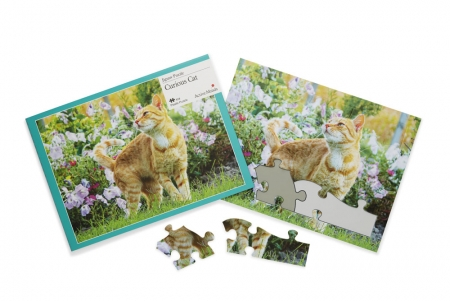 Curious Cat - 13 Piece Jigsaw Puzzle