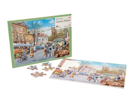 Autumn Market - 35 Piece Jigsaw Puzzle