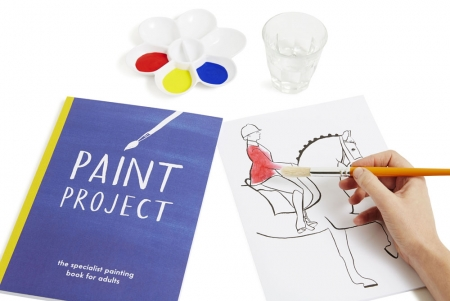 Paint Project - Cut out and copy Painting Book
