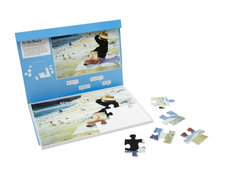 At The Beach - 24 Piece Jigsaw