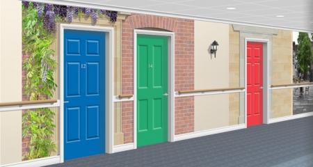 Door Set Murals