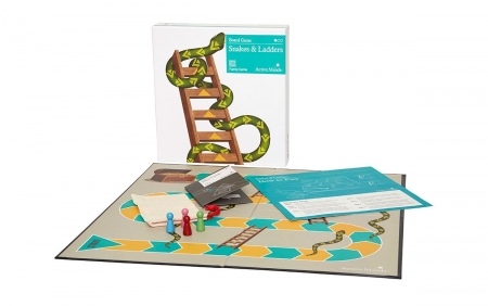Snakes and Ladders for players with Dementia