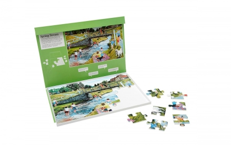 Spring Stream - Dementia Friendly 35 Piece Jigsaw Puzzle