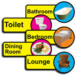 Bathroom Signs Dementia specialist dementia products - toileting aids   bathing aids