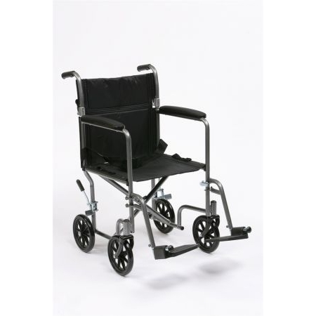 "Steel Travel Chair with 19"" seat"