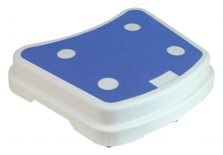 Stackable Bath Step - White and Blue
