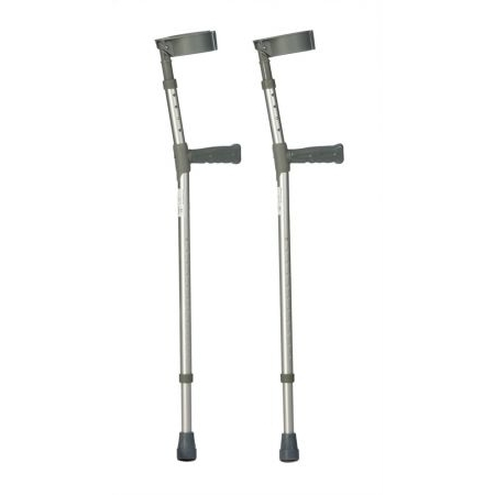 Elbow Double Adjustable Crutches - Extra Long - Adult Pair