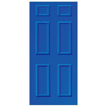 Door Decal - Dementia Friendly - Blue