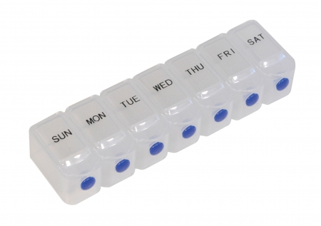 Deluxe 7-Day Pill Dispenser with Braille