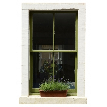 Sash Window Design Vinyl - 1000 x 670mm