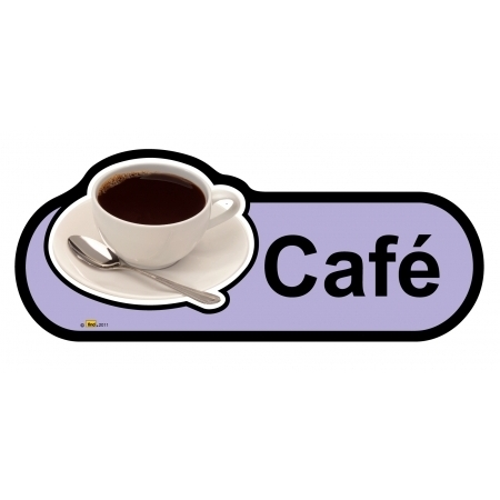 Cafe sign - 300mm - Lilac
