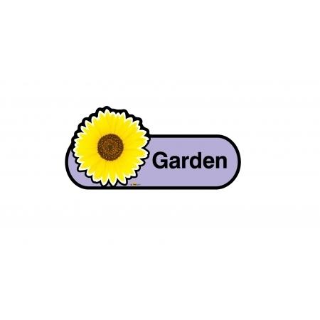 Garden sign - 300mm - Lilac