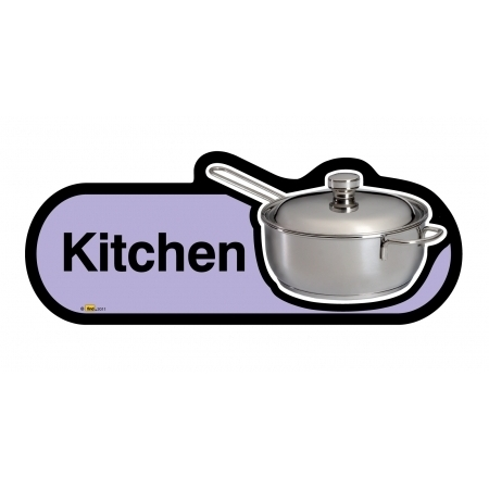Kitchen sign - 300mm - Lilac