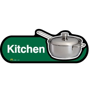 Kitchen sign - 480mm - Green