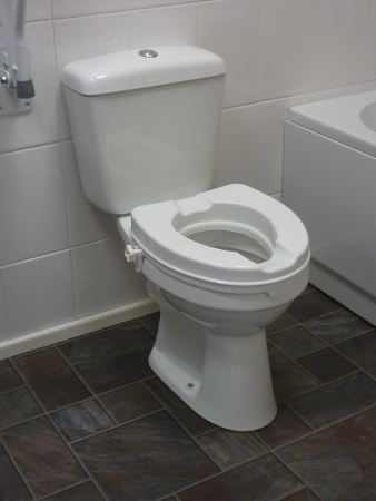 Raised Toilet Seat Without Lid - Available in different sizes