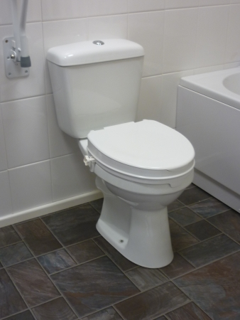 Raised Toilet Seat With Lid - Available in three sizes