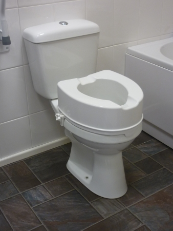 Raised Toilet Seat Without Lid - 6""